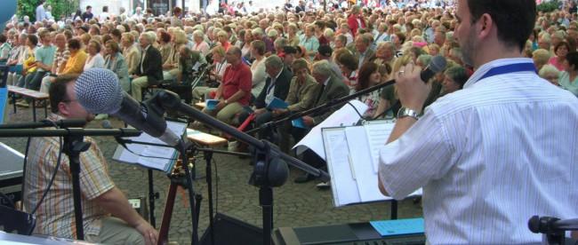 Katholikentag am 30. August 2008 in Dortmund © Klaus Steinweg